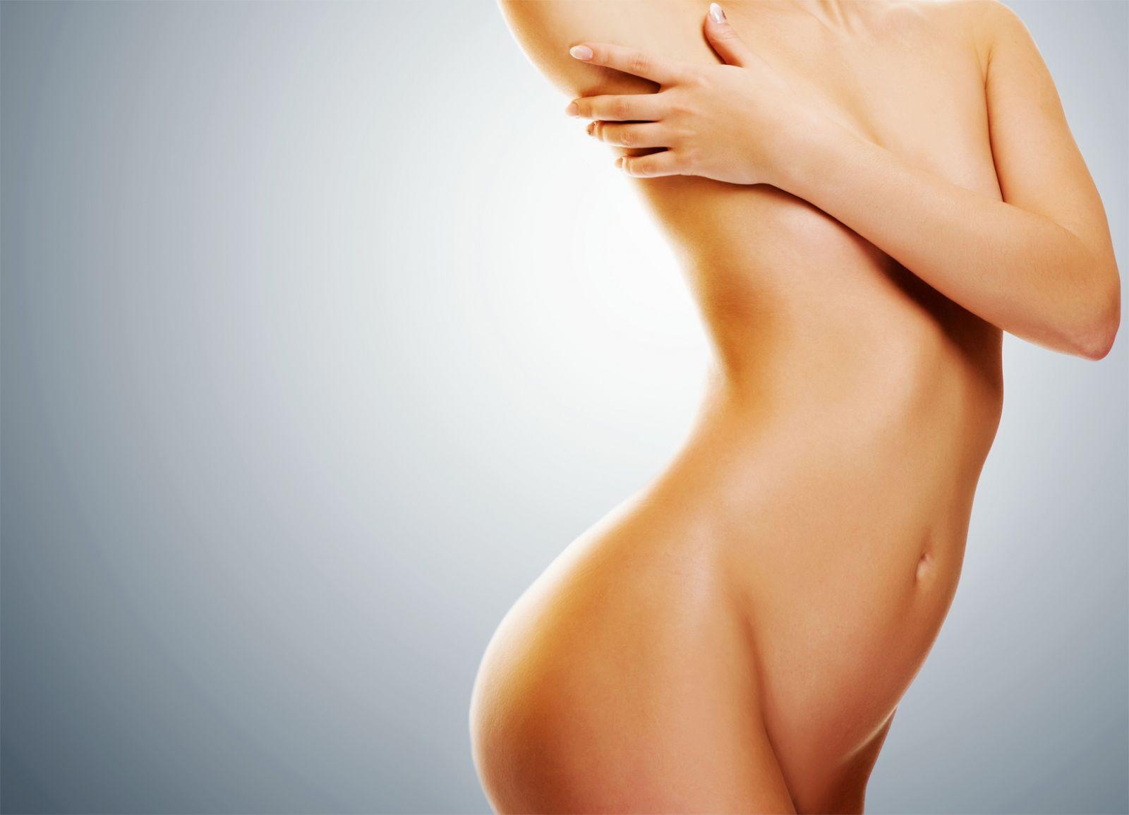 женское красивое тело